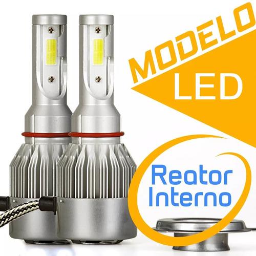 farol lâmpada super led xenon 7600 lumens h1 h4 h7 h11 6000k
