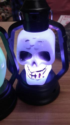 farol luminoso halloween fantasma farolito luz