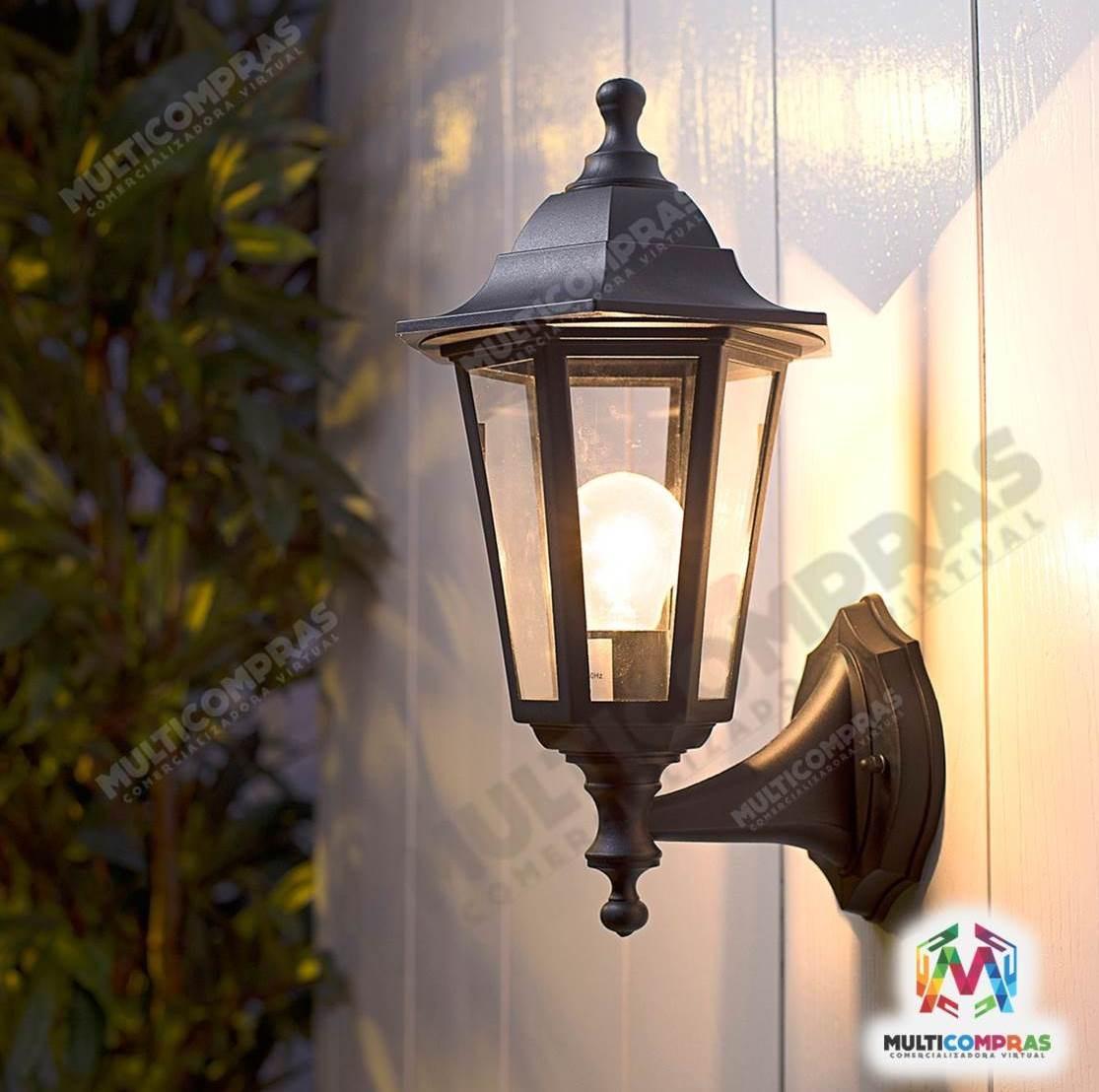 Farol luz bombillo finca casa apartamento balc n for Faroles para iluminacion exterior