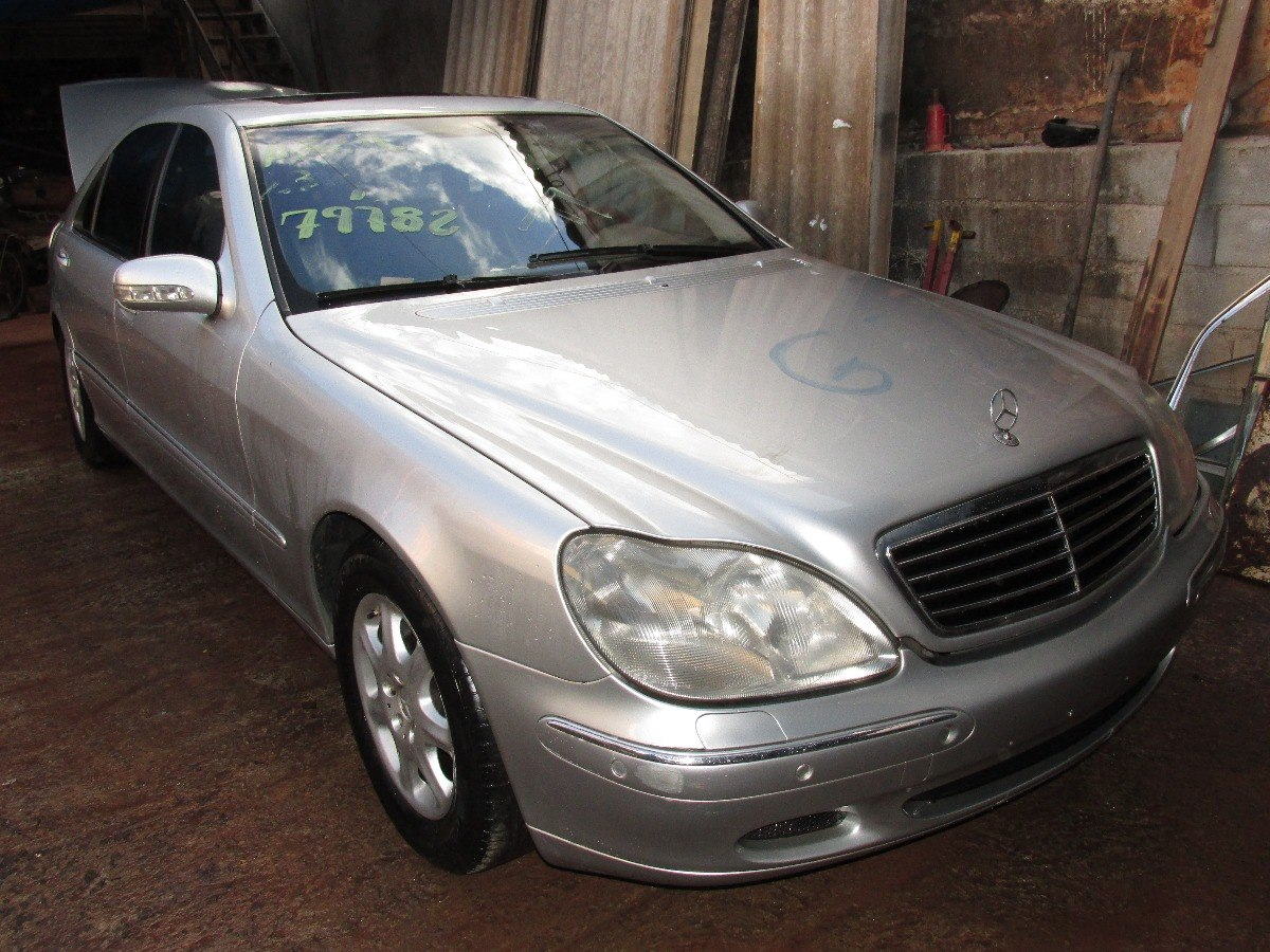 Farol Mercedes Benz S500 L 2001 Com Detalhe. Carregando Zoom.