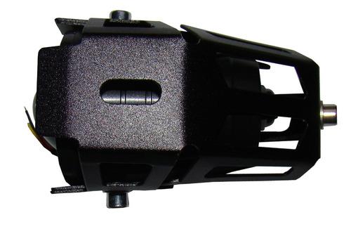 farol milha led auxiliar  moto universal aluminio u7 2 peças