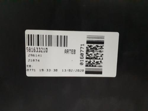 farol onix prisma moldura azul h4 arteb 0160771 -