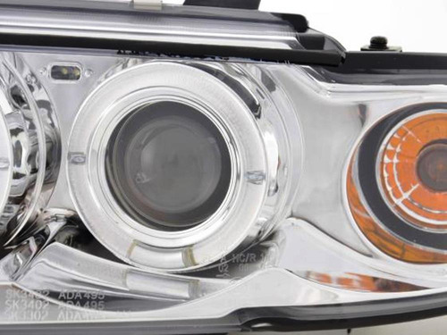farol retrofit audi a4 1994 a 1998 angel eyes led cromo