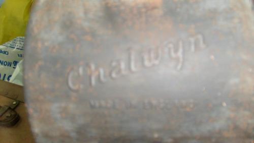 farol  señalero antiguo marca: chalwyn, inglés
