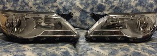 farol tiguan original com lâmpadas