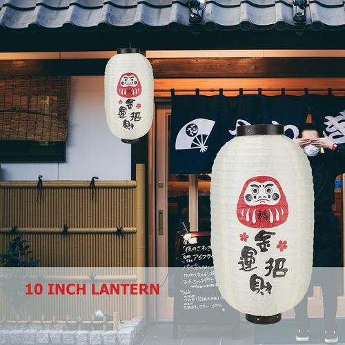 farol tradicional estilo japonés de 25,4 cm