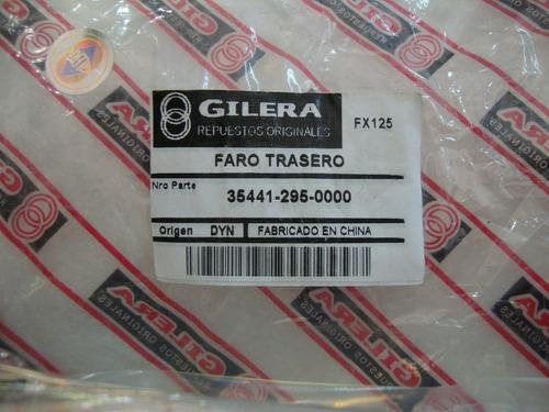 farol trasero gilera fx 125cc - 2r