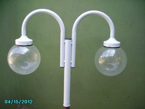 farola de globo jardin con poste incluido *directo fabrica*