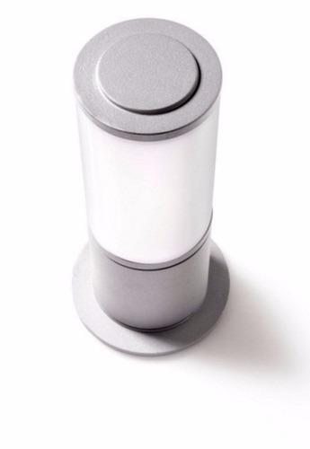 farola de piso en aluminio alturas 30, 50, 60, 80 cm delta