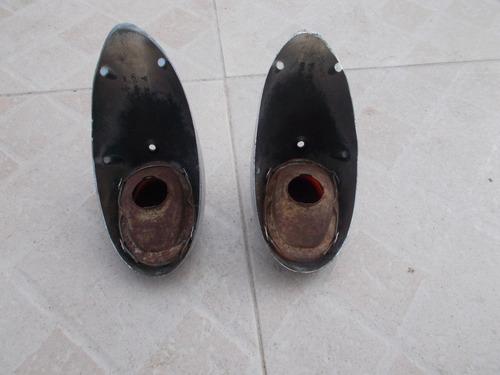 faroles de fusca oval unicos