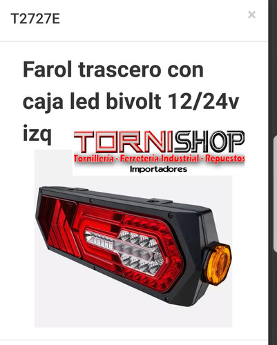 faroles led remolques randon universales