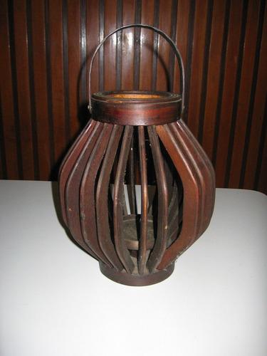 farol/fanal de madera