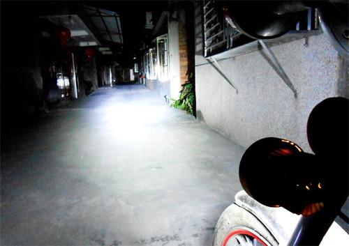 faros 2 piezas 6 leds buena luz moto motocicleta fijo fijo