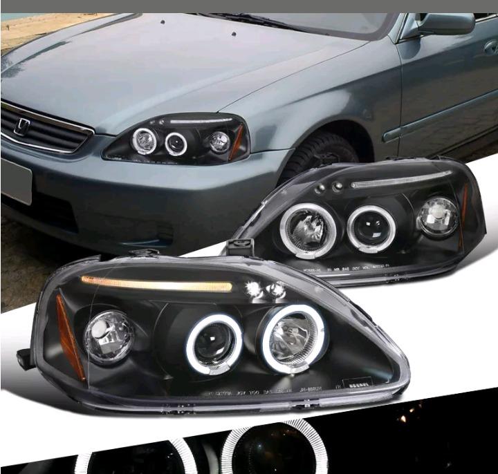 Faros Honda Civic 96-98 Jdm - Bs. 209.879.539,37 en ...