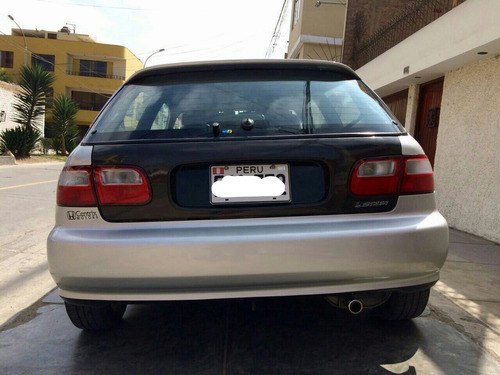 faros jdm euro posteriores - civic hatchback 92 al 95
