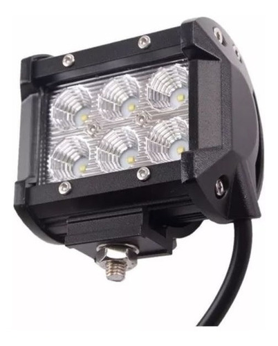 faros led cree 18w waterproof exploradoras alta intensidad