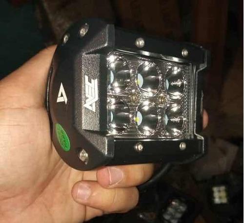 faros led  originales 6 led 18w marca avec profundidad