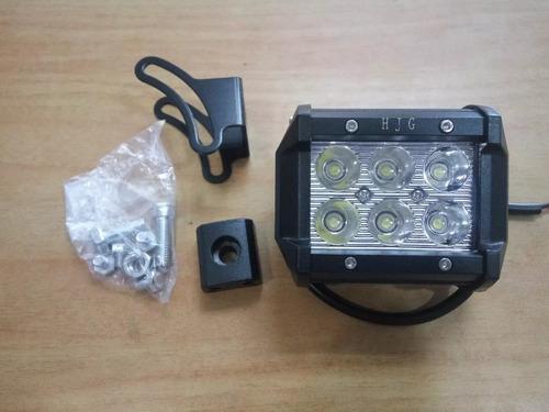 faros, luces 6 led de 18w tecnologia led cree waterproof