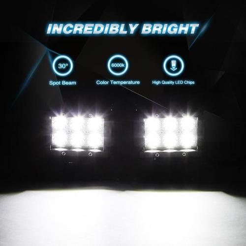 faros luces 6 led ip67