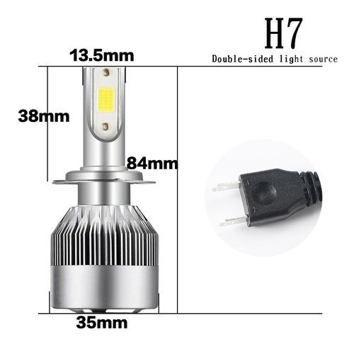 faros luces bombillos led h4 9007 autos carros