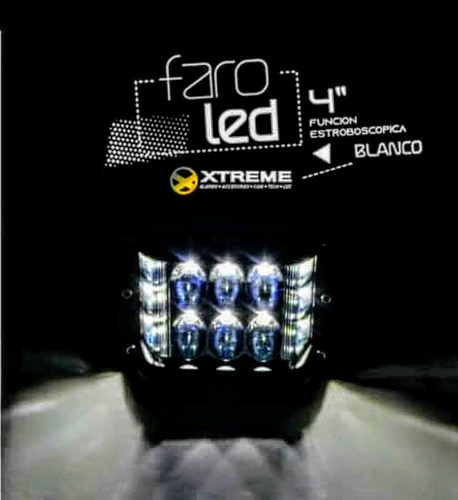 faros luces led con función estroboscopica