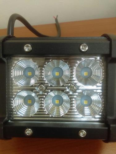 faros, luces led  de 18w  tecnologia led cree