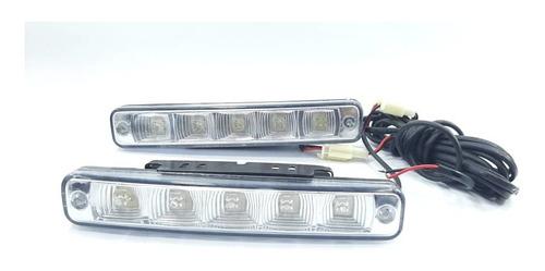 faros luces mini barra 5 led c/u slim de 18 watts waterproof