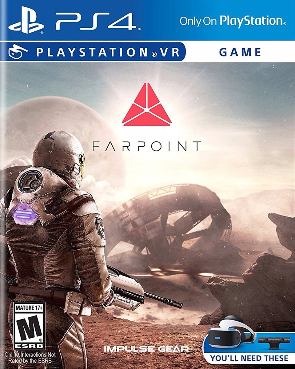 Farpoint Vr Juego Ps4 Juego Playstation 4 Digital 1 406 30 En