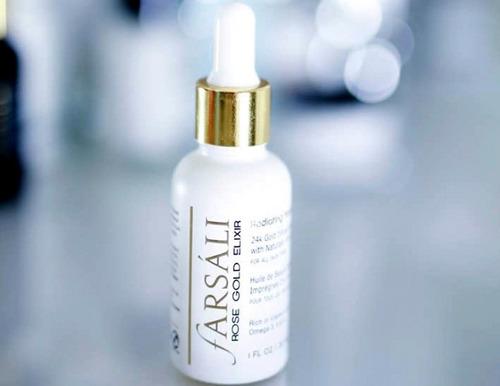 farsali rose gold elixir antiedad- pre maquillaje