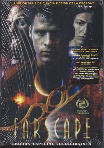 farscape serie completa 4 temporadas + película en español