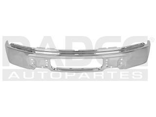 fascia delantera ford f-150 2009-2010-2011-2012cromo s/hoyo