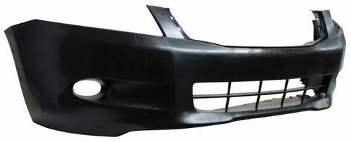 fascia delantera honda accord 2009 4p c/faro p/niebla + reg