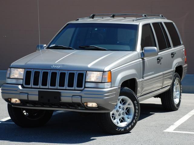Fascia Delantera Jeep Grand Cherokee Laredo 1996