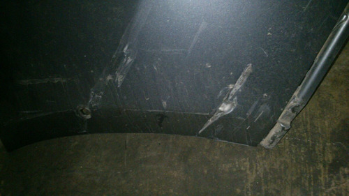 fascia trasera audi q5 para reparar