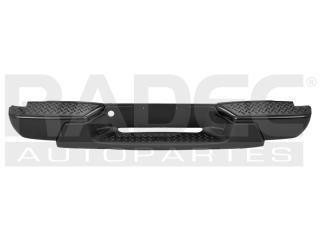 fascia trasera chevrolet colorado 2012 negra