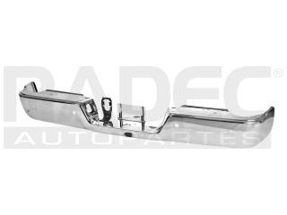 fascia trasera dodge ram 2014-2015 c/hoyo