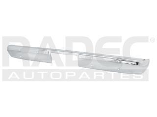 fascia trasera gmc sierra 1989-1990-1991 cromada s/barreno