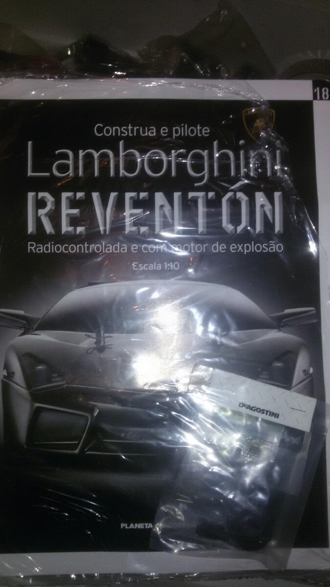 Fasciculo 18 Lamborghini Reventon Deagostini R 38 00 Em Mercado Livre