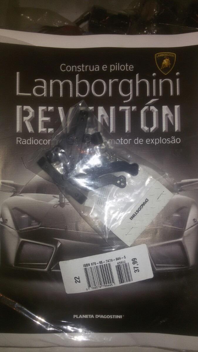 Fasciculo 22 Lamborghini Reventon Deagostini R 38 00 Em Mercado Livre