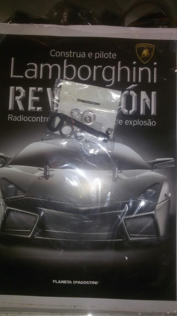 Fasciculo 24 Lamborghini Reventon Deagostini R 38 00 Em Mercado Livre