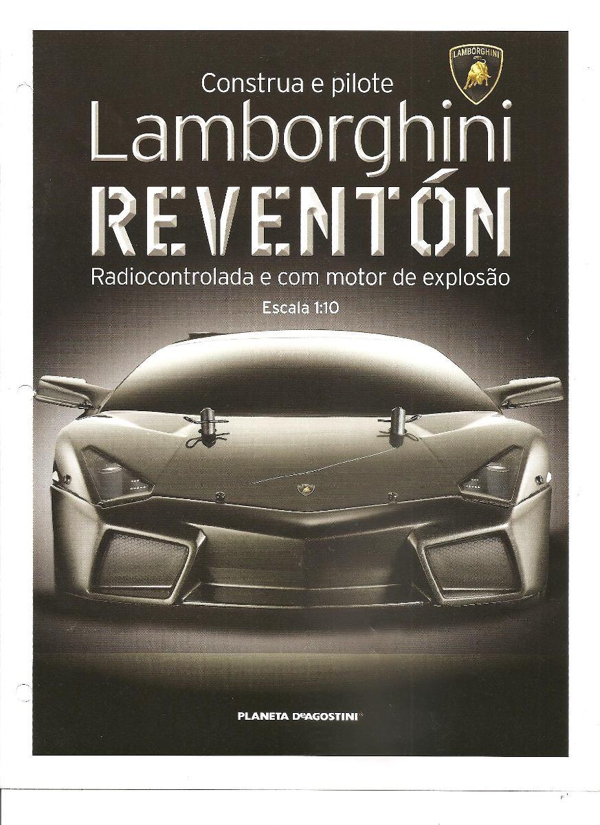 Fasciculo 30 Colecao Lamborghini Reventon Planeta Deagostini R 90