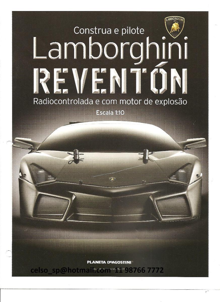 Fasciculo 55 Colecao Lamborghini Reventon Planeta Deagostini R