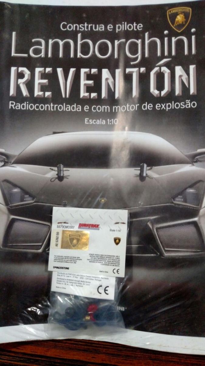 Fasciculo 61 Colecao Lamborghini Reventon Planeta Deagostini R