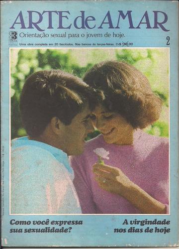 fascículo arte de amar nº 2 - editora três