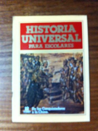 fascículo historia universal para escolares nº12