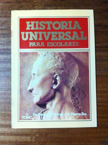 fascículo historia universal para escolares nº5 guerras puni