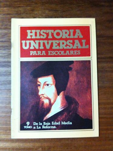 fascículo historia universal para escolares nº9