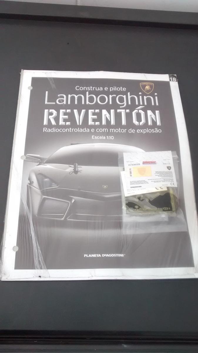 Fasciculo Lamborghini Reventon Construa E Pilote Edicao 18 R 25