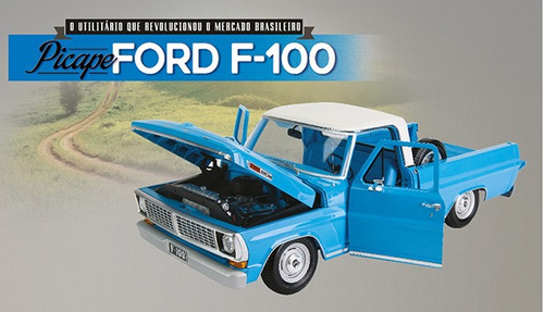 fascículo revista 1  e 2  ford f-100 pick up f100