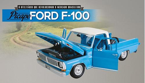 fascículo revista primeiras peças picape ford f-100 pick up